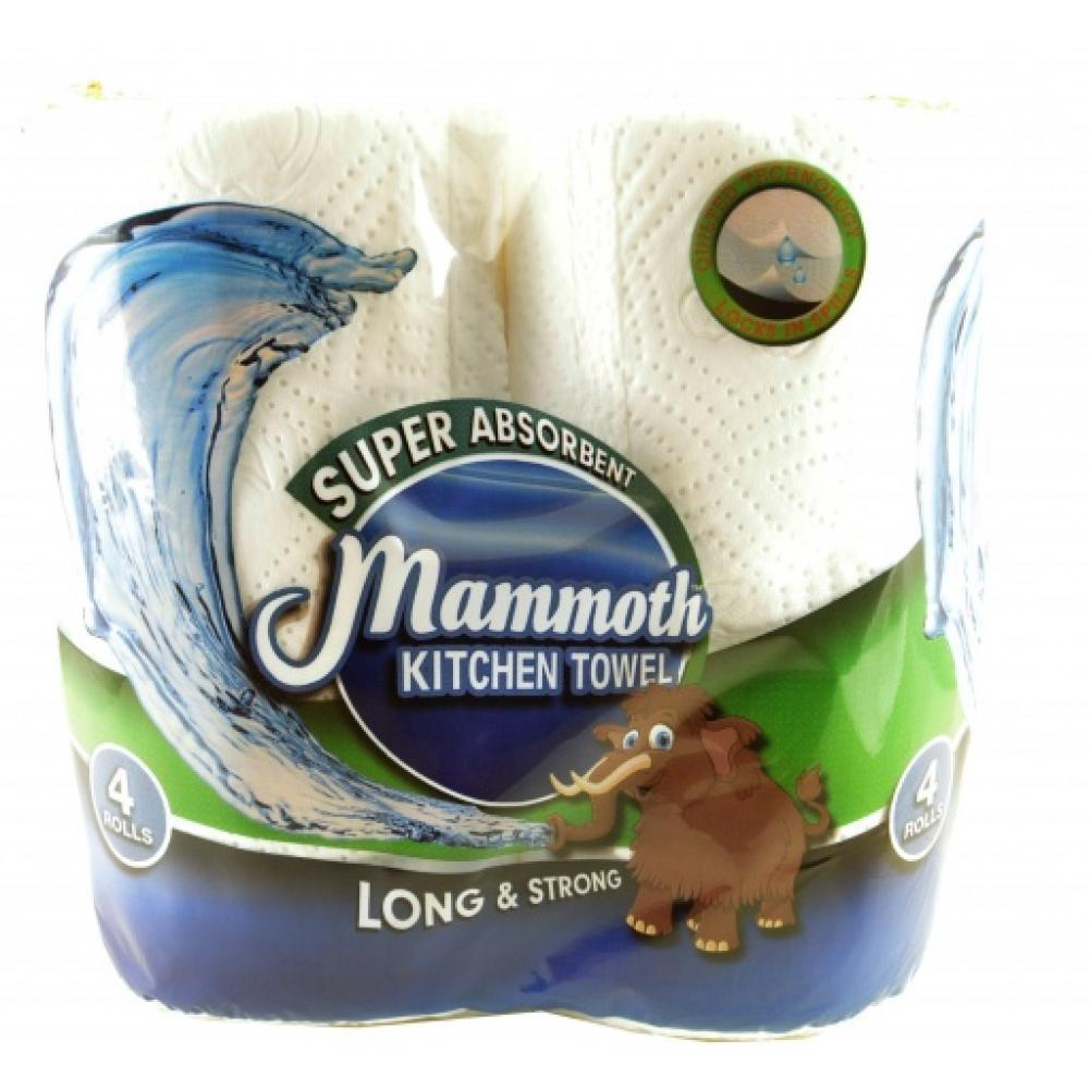 Mammoth Kitchen Towel 4 Rolls