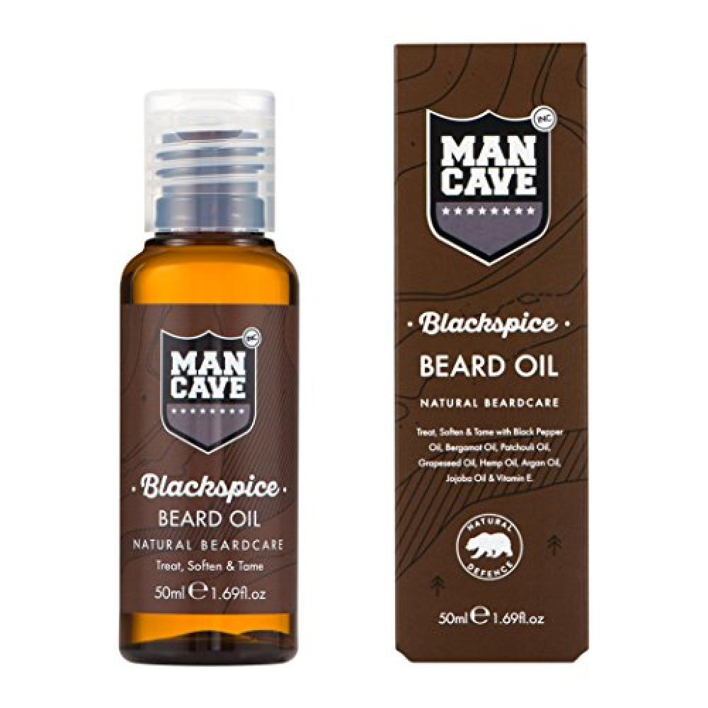 ManCave Natural Blackspice Beard Oil 50 ml