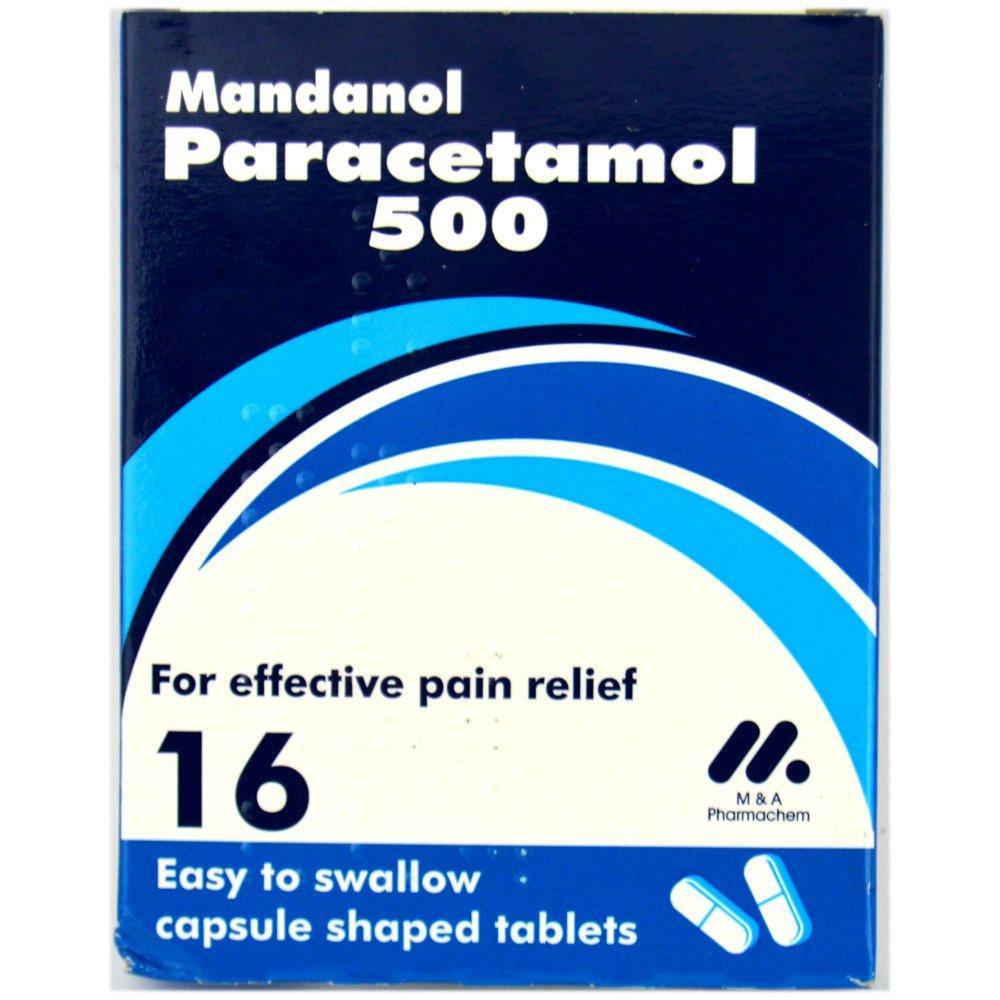 Mandanol Paracetamol 16 tablets