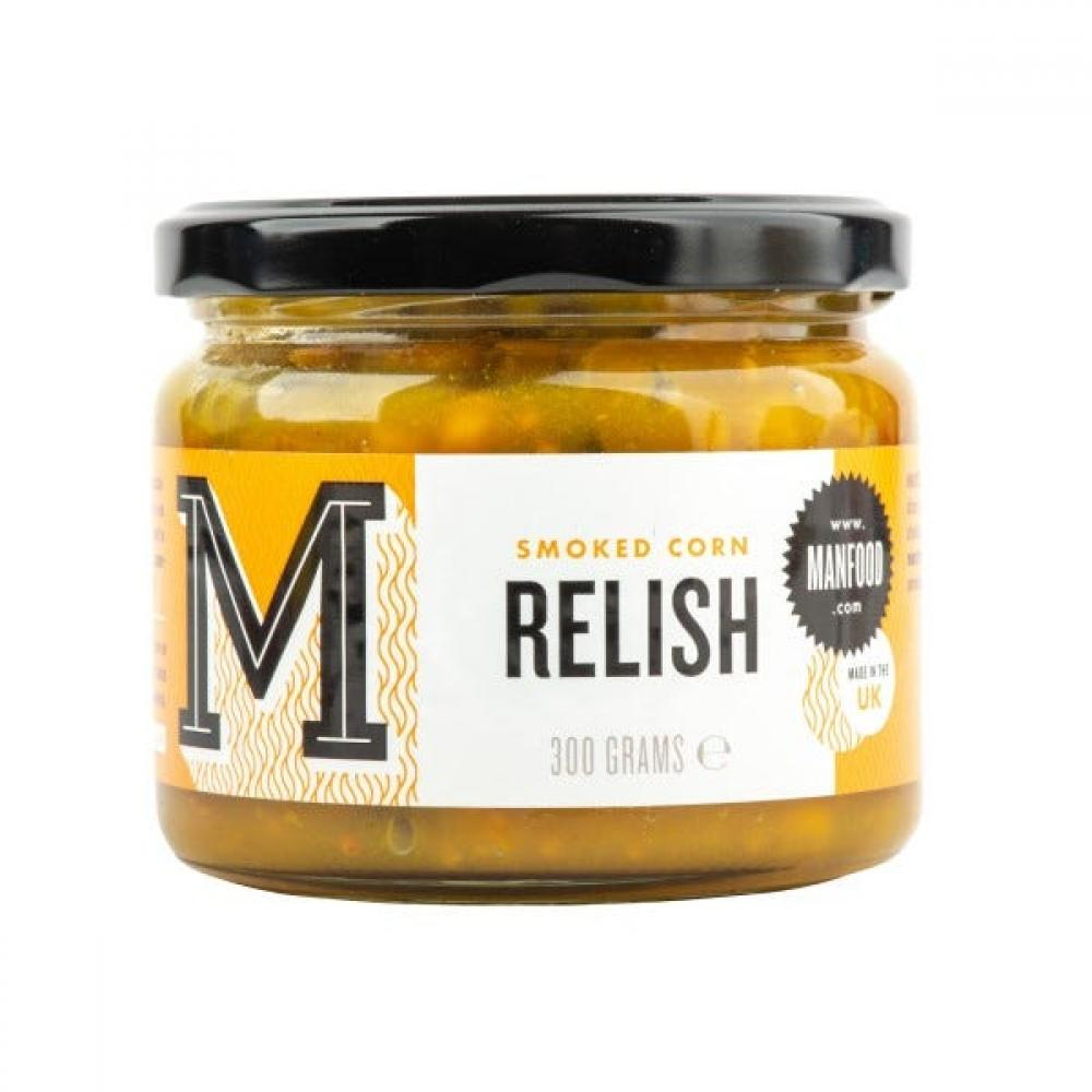 Manfood Smoky Corn Relish 300g