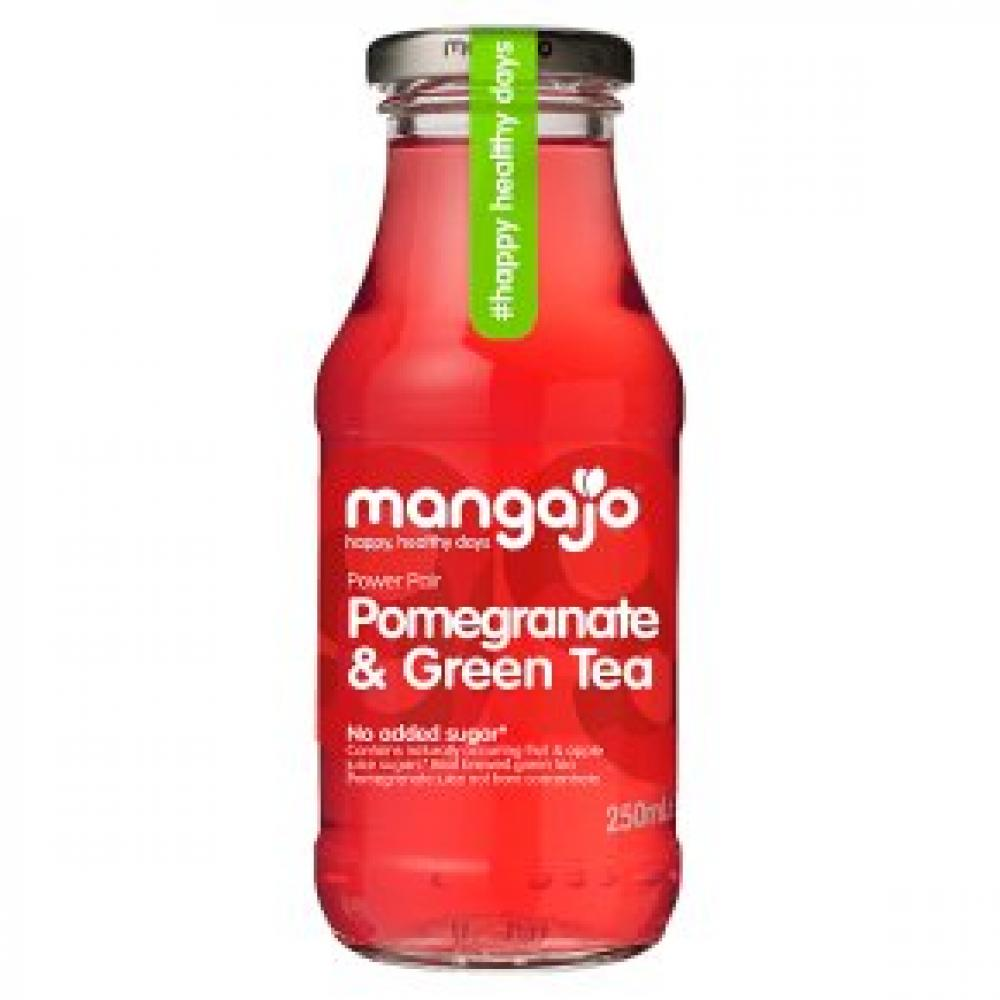 Mangajo Pomegranate and Green Tea Drink 250ml