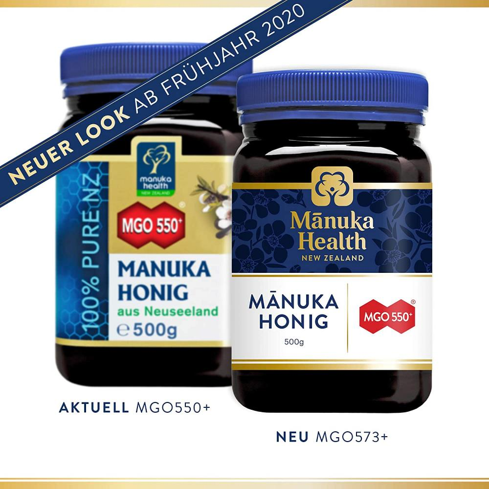 Manuka Health MGO 550 Plus Manuka Honey 500 g