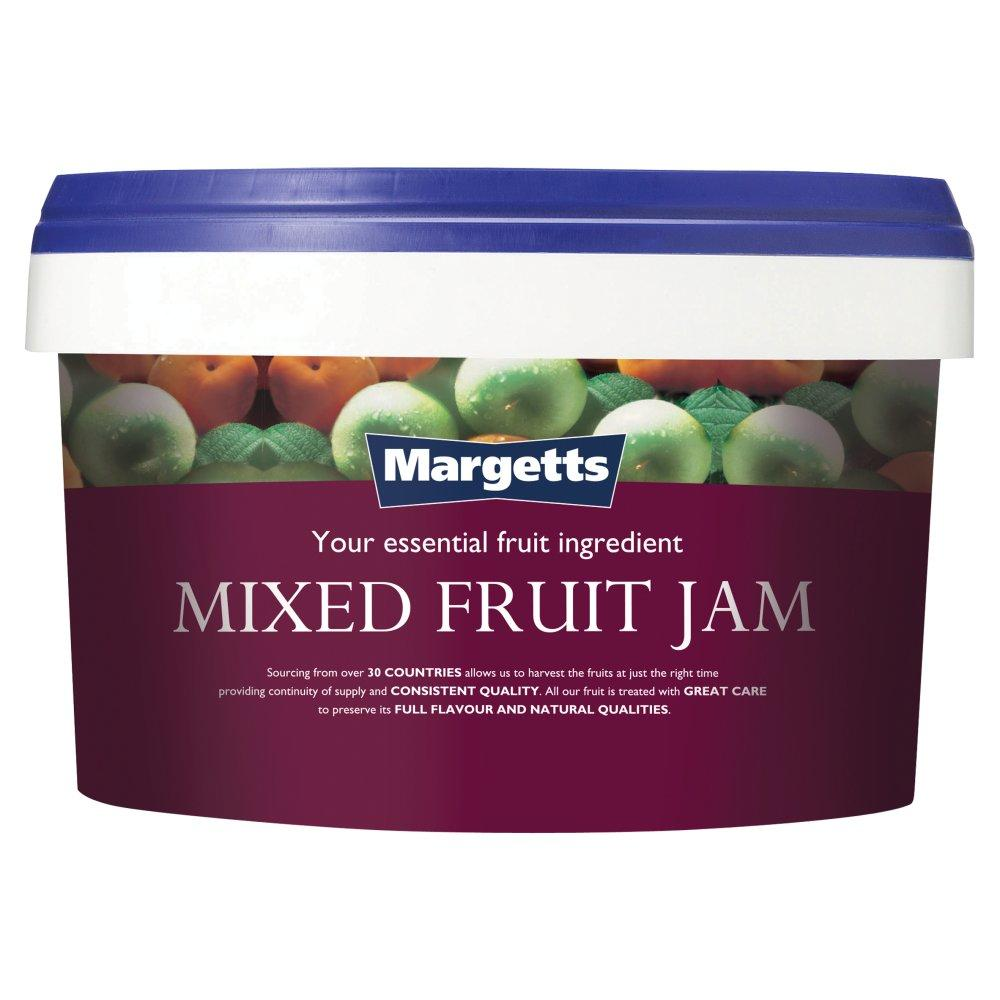 SALE  Margetts Mixed Fruit Jam 3kg