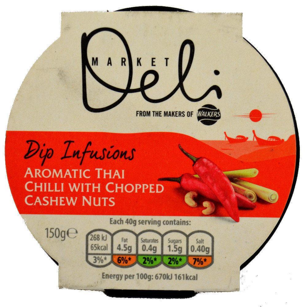 Market Deli Dip Infusions Aromatic Thai Chilli 150g