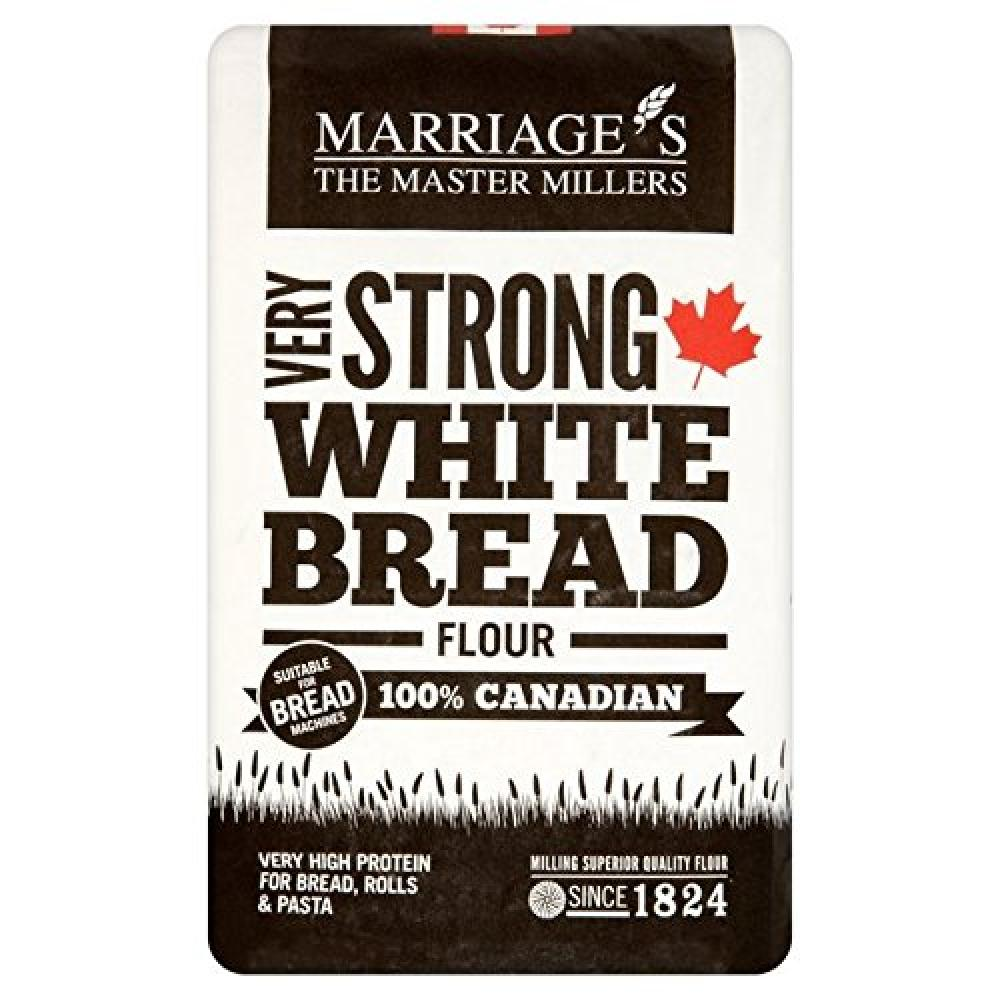 Marriages Very Strong Canadian White Flour 100 Canadian 1500g