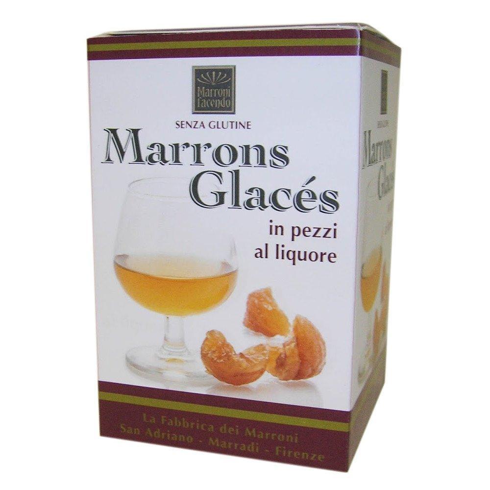 Marroni Facendo Sweet Chestnut Pieces with Liqueur 200g
