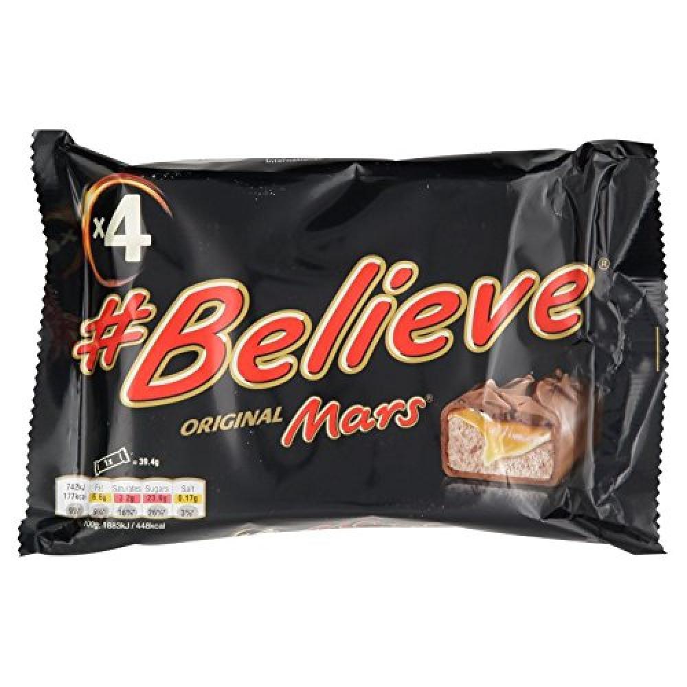 Mars Chocolate Bars 4x39.4