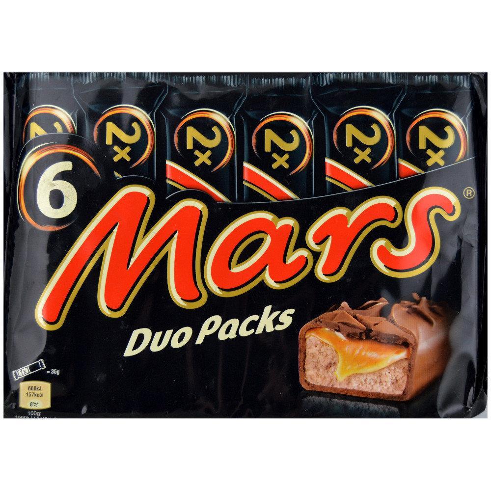 Mars Duo 70g x 6