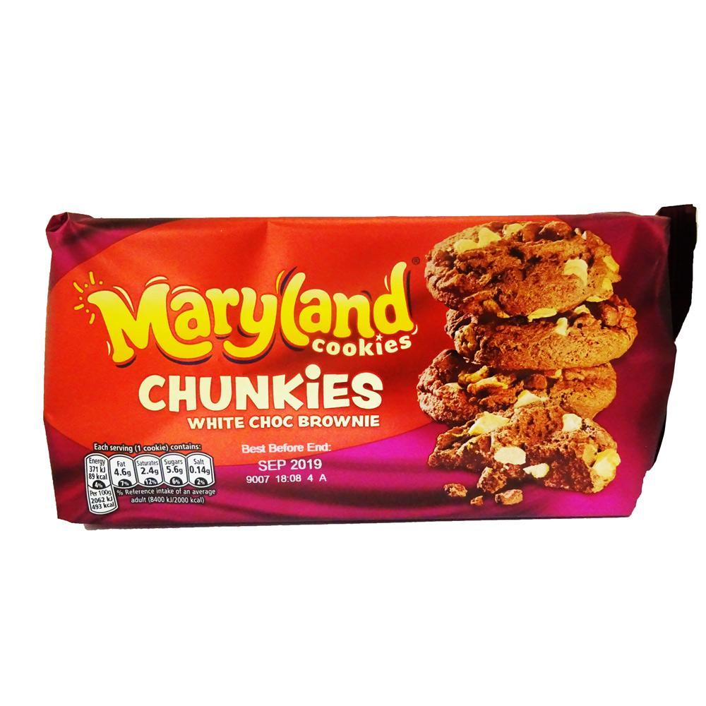 Maryland Chunkies White Choc Brownie 144g