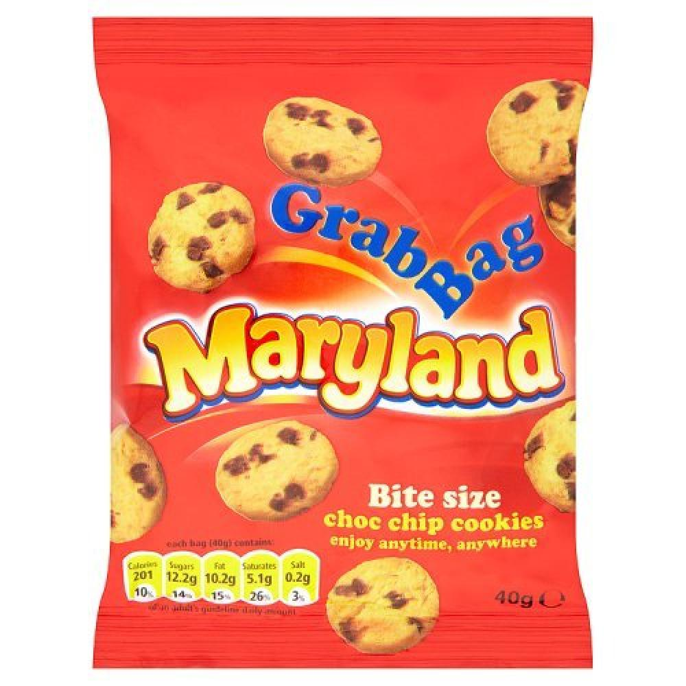 Maryland Mini Choc Chip Cookies 40g