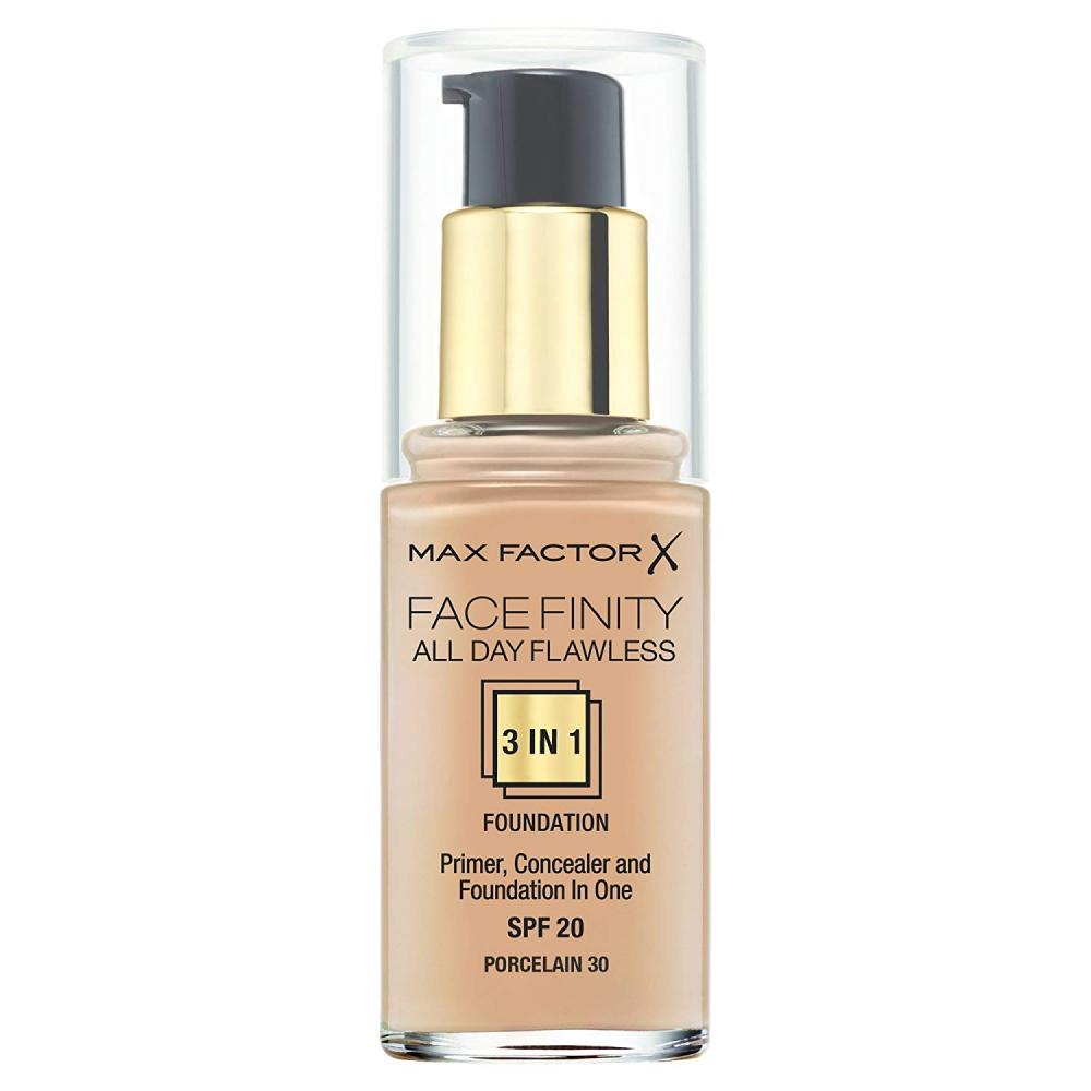 Max Factor 3 in 1 Facefinity Foundation Number 30 Porcelain 30 ml