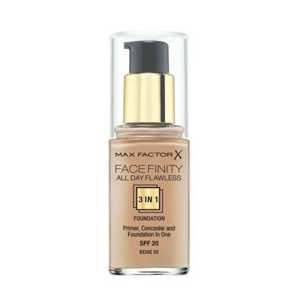 Max Factor Facefinity All Day Flawless 3-in-1 FoundationBeige 30ml