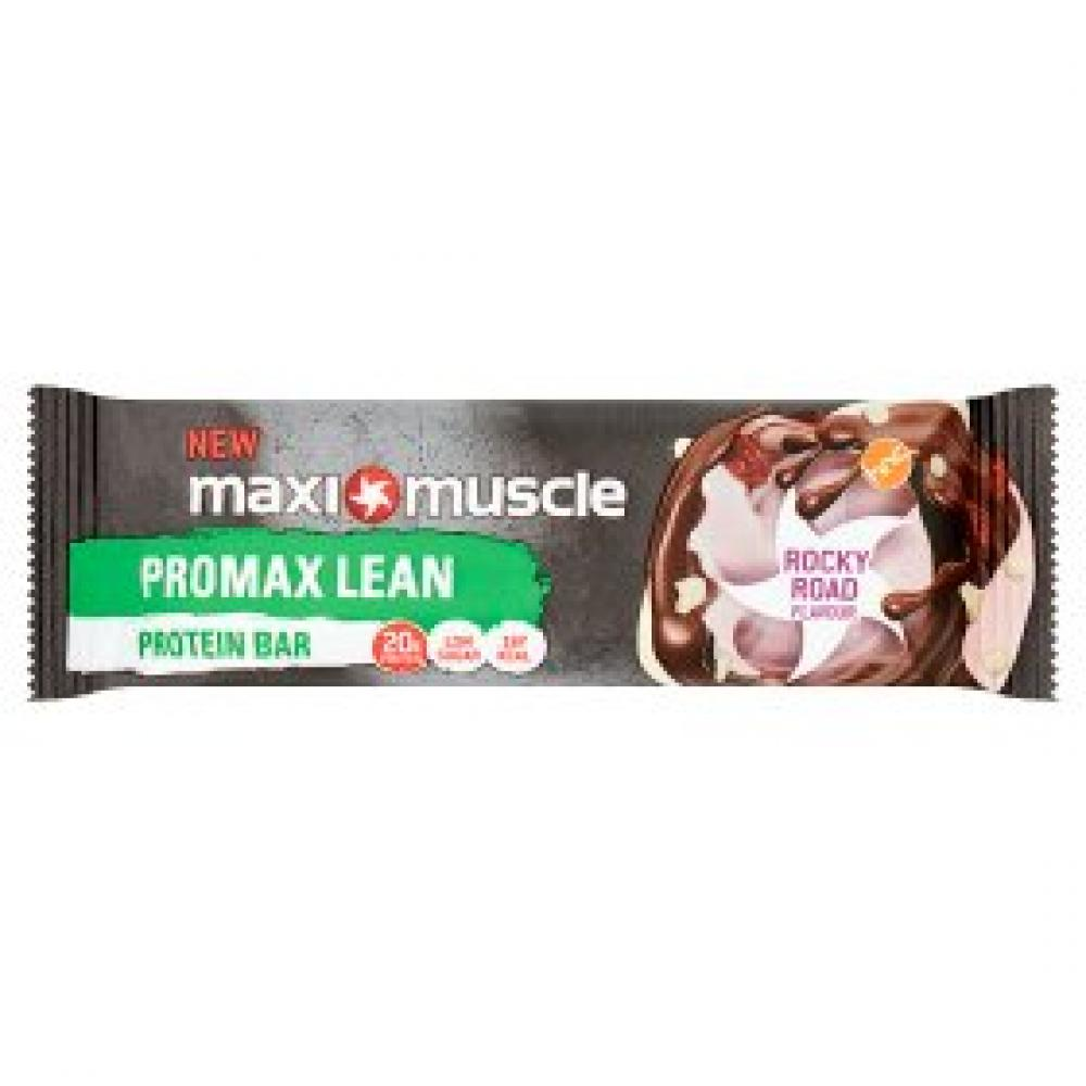 Maxi Muscle Promax Protein Bar Rocky Road Flavour 55g