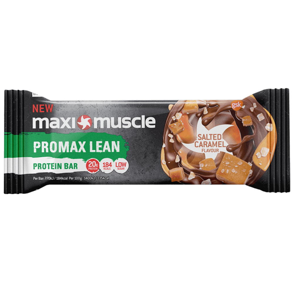 Maximuscle Promax Lean High Protein BarChocolate Salted Caramel 55g