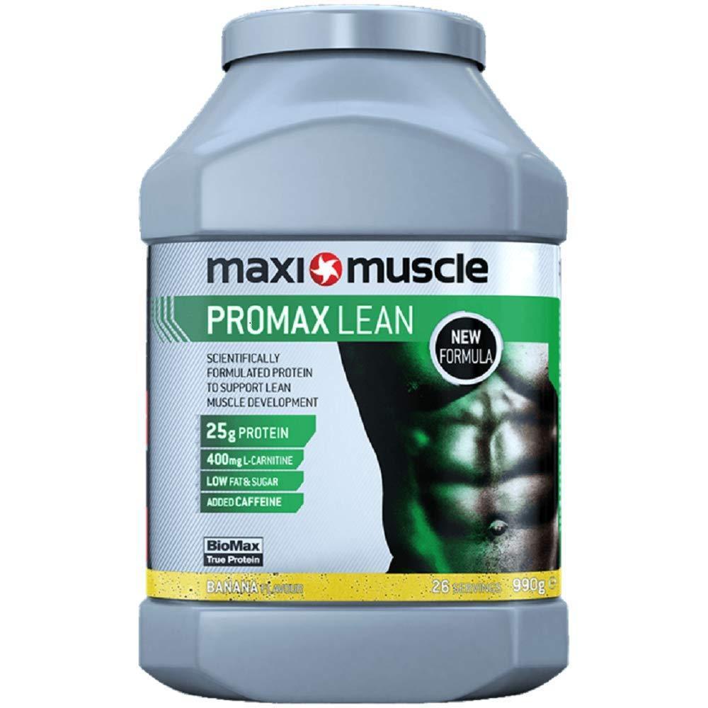 Maximuscle Promax Lean Protein Powder Banana Flavour 990g