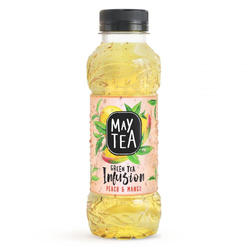 20 UNDER 20  May Tea Green Tea Infusion Peach and Mango 500ml