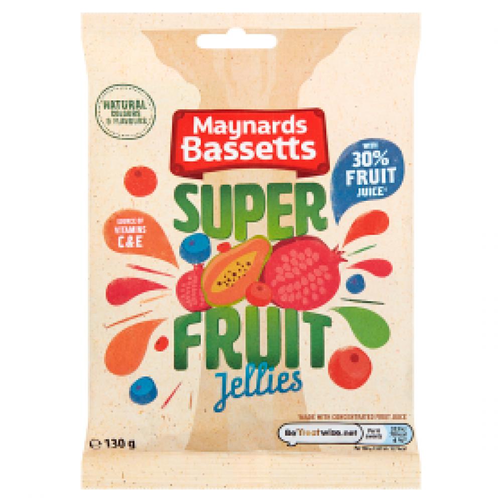 Maynards Bassetts Super Fruit Jellies 130g