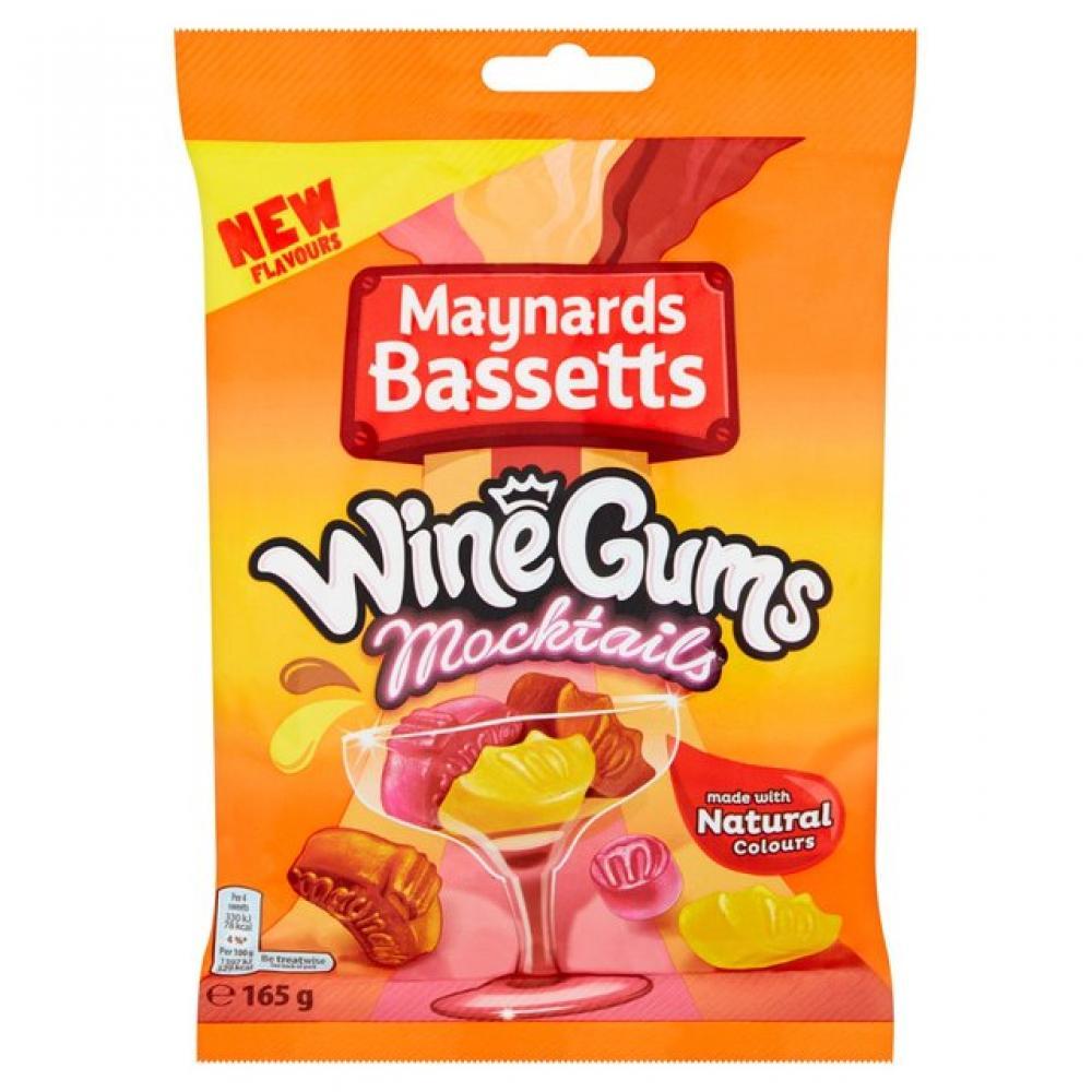 Maynards Bassetts Wine Gums Mocktails 165g