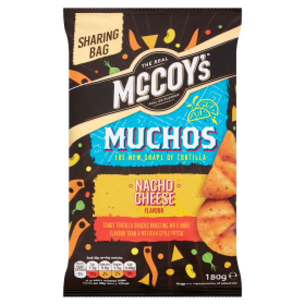 Mccoys Muchos Nacho Cheese 180g