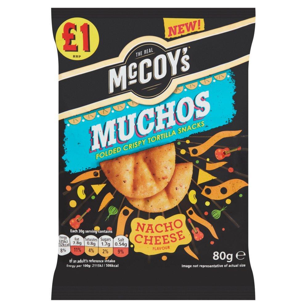 Mccoys Muchos Nacho Cheese 80g