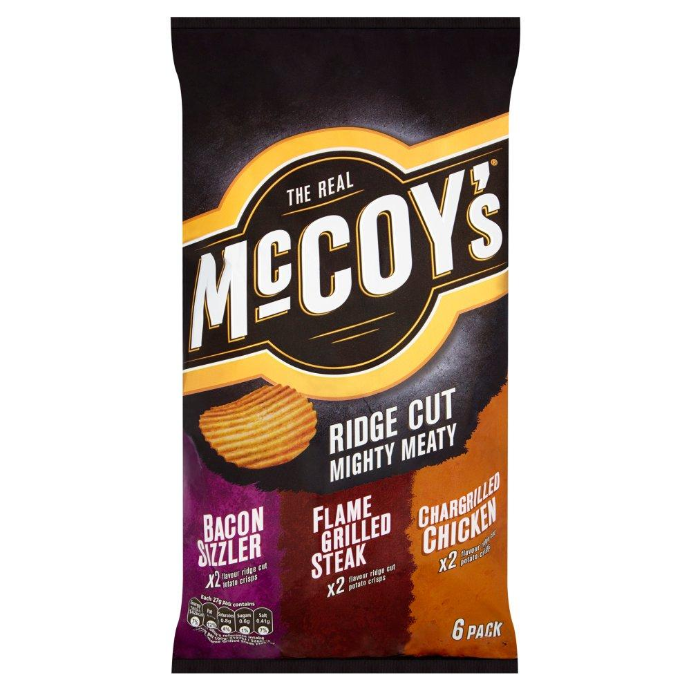 Mccoys Ridge Cut Mighty Meaty 27g x 6