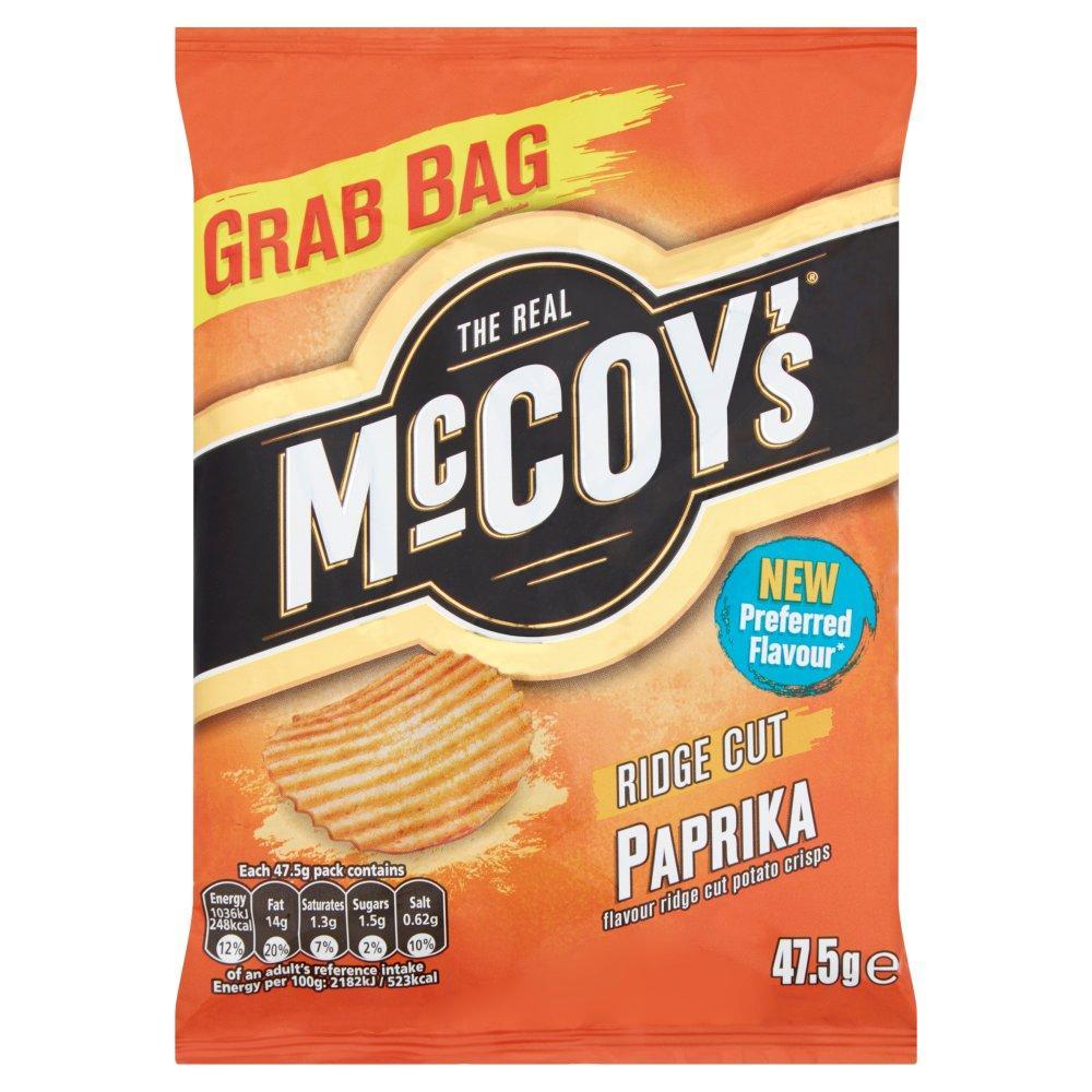 Mccoys Ridge Cut Paprika 47.5g