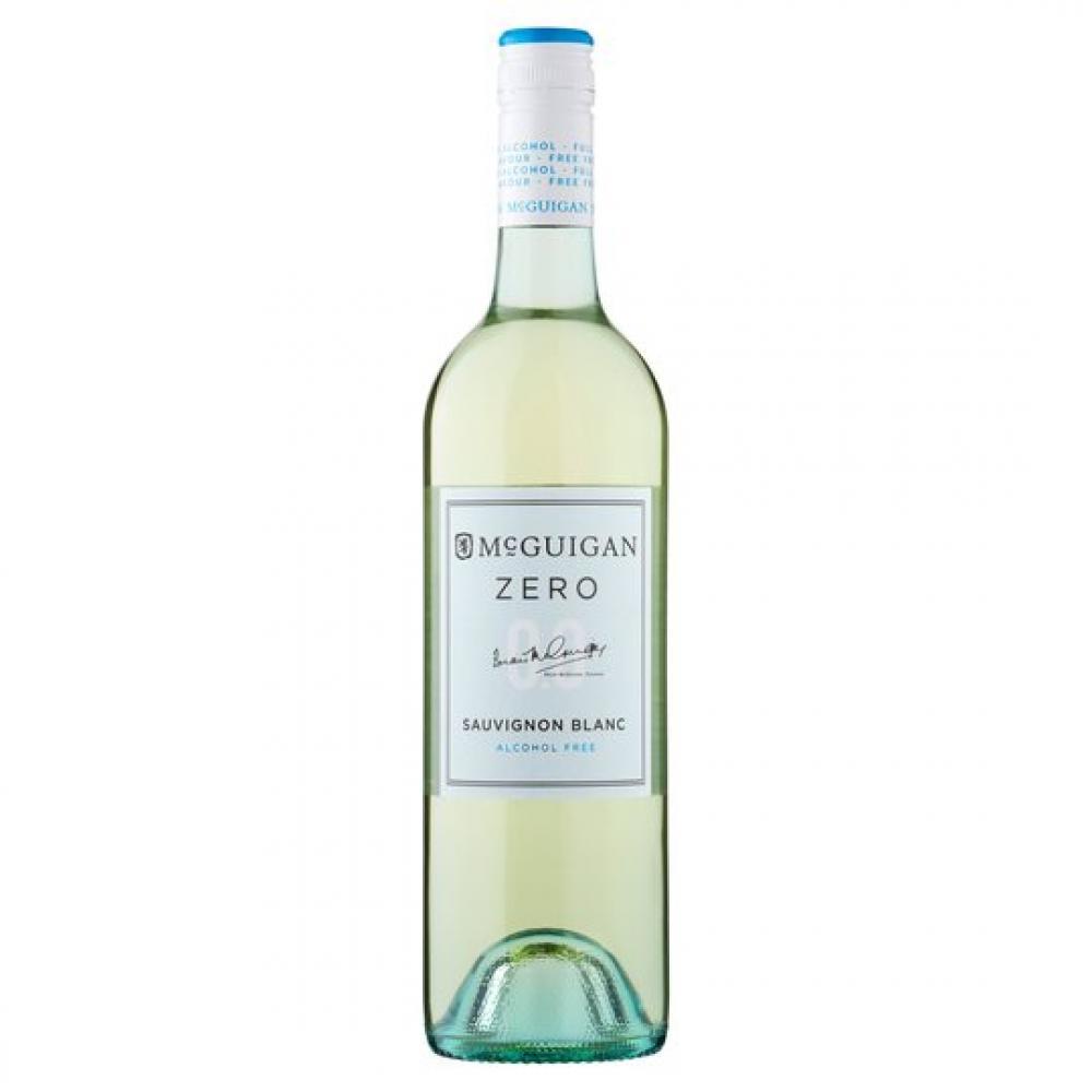 Mcguigan Zero Sauvingnon Blanc Alcohol Free 750ml