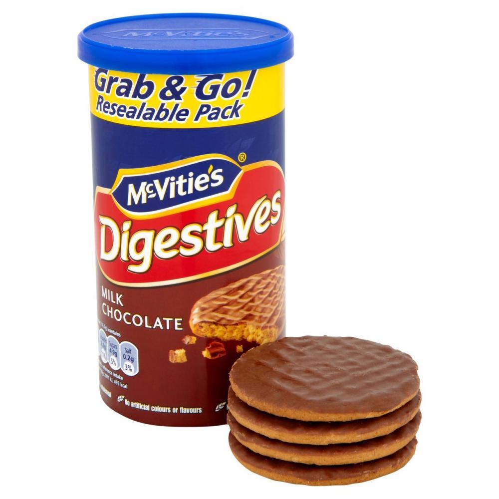 McVities Digestives Grab and Go Milk Chocolate 200g