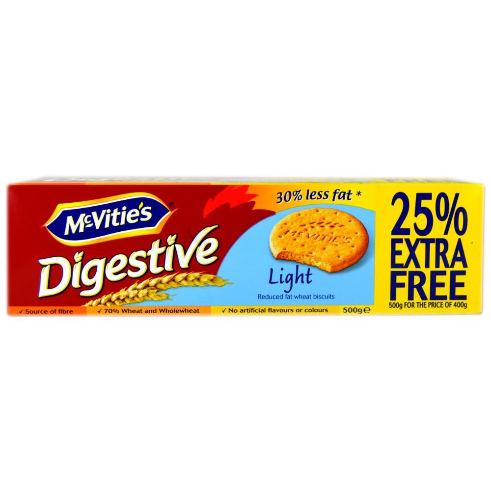 McVities Digestives Light 500g