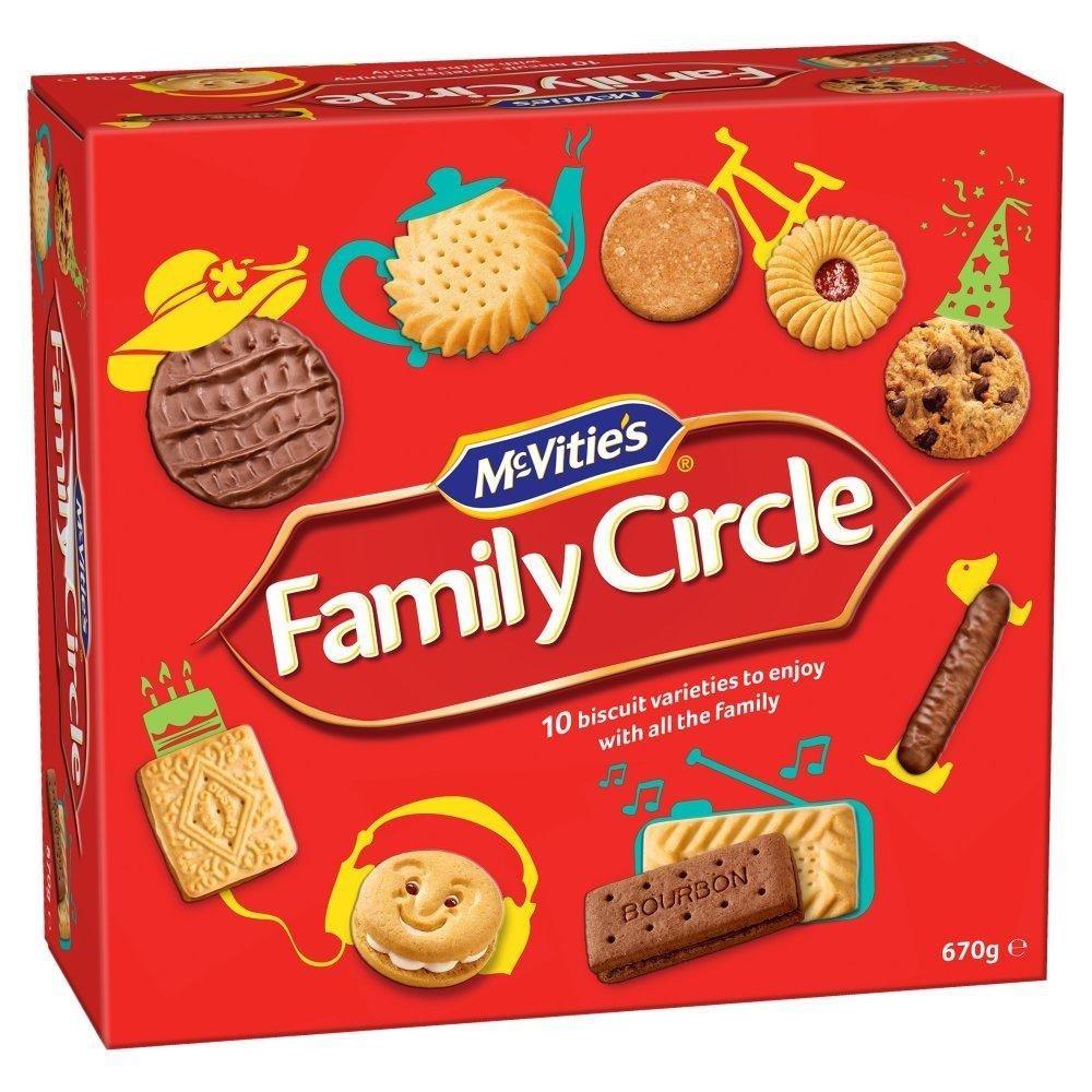 McVities Family Circle 670g