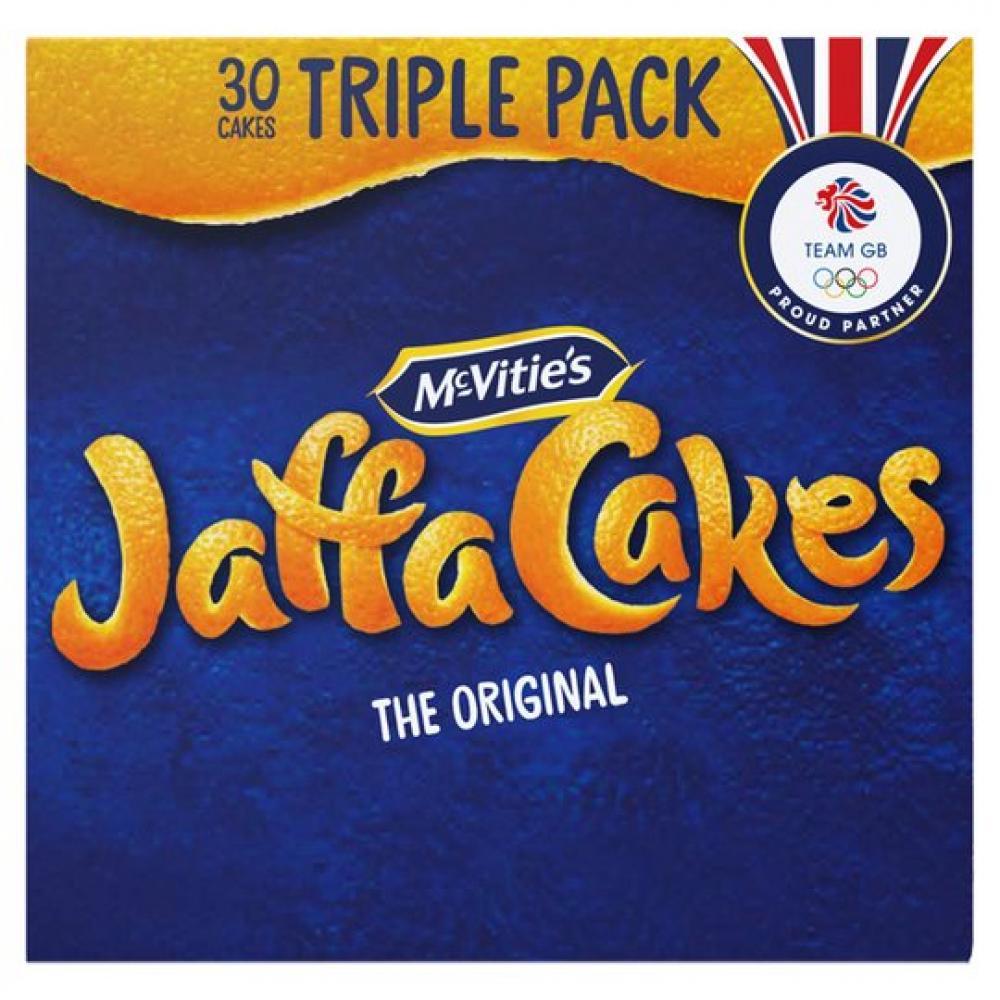 McVities Jaffa Cakes Triple Pack 30 Cakes