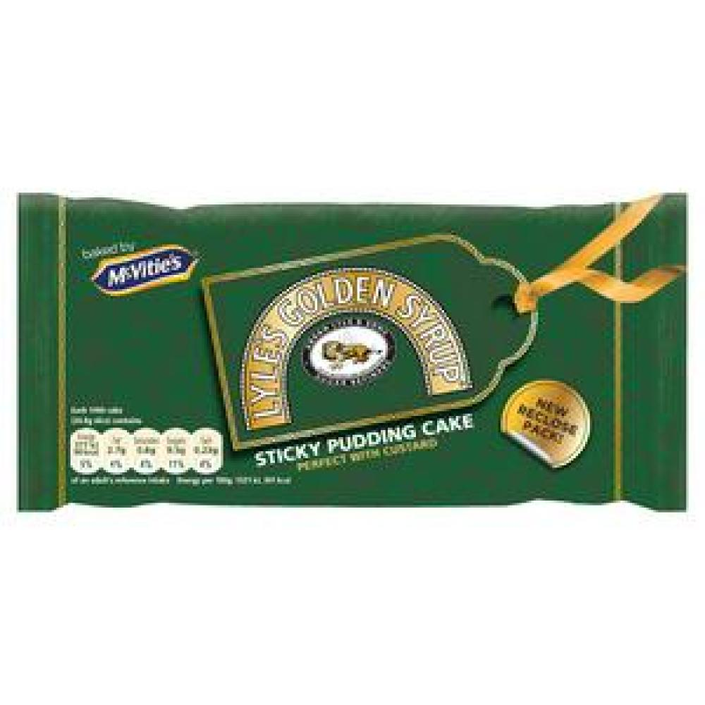 McVities Lyles Golden Syrup Cake