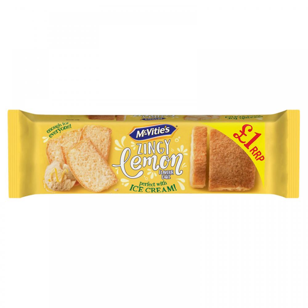 McVities Zingy Lemon Cake