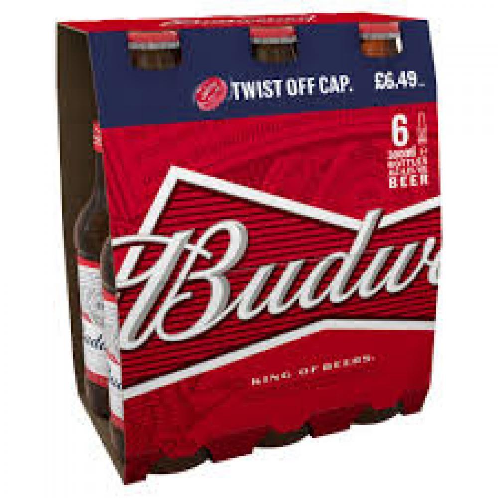 Budweiser 6 x 300ml
