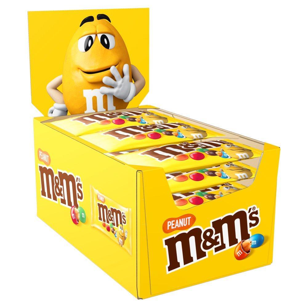 CASE PRICE  M and Ms Peanut 24 x 45g