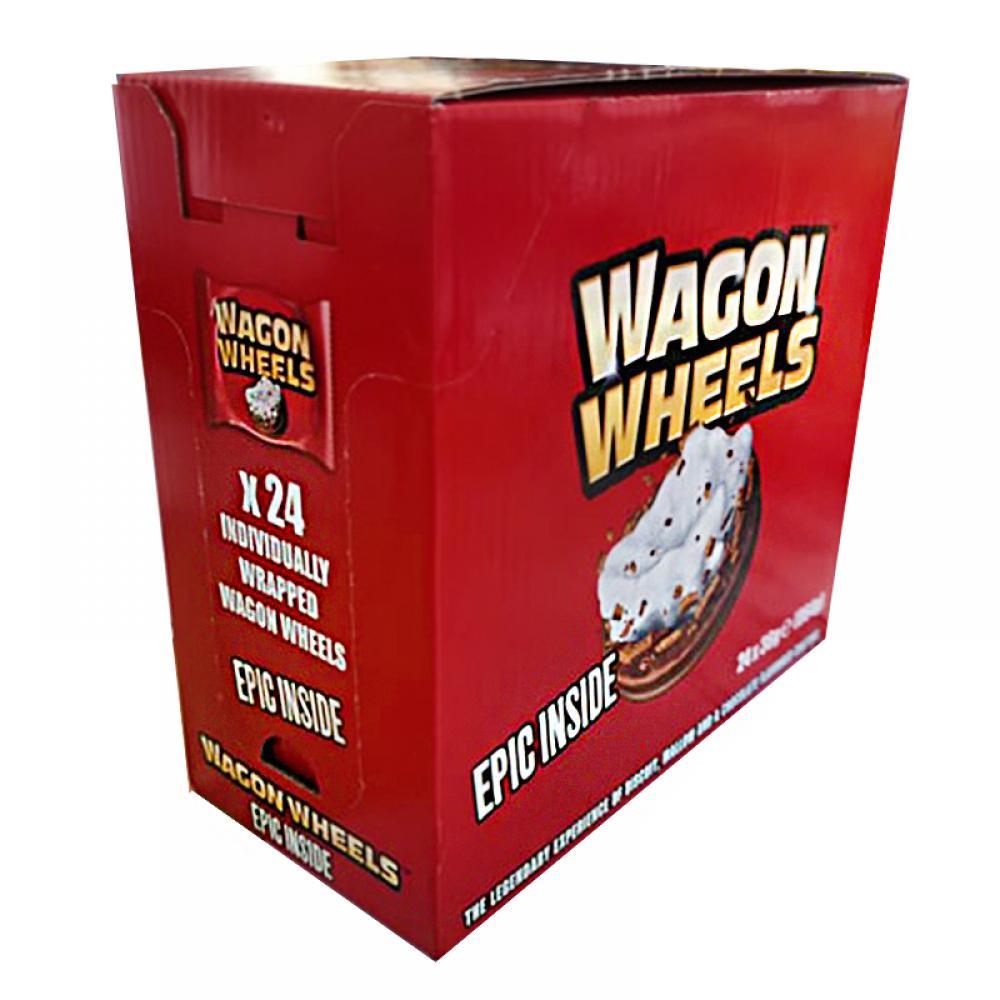 CASE PRICE  Wagon Wheels Original 24 x 36g