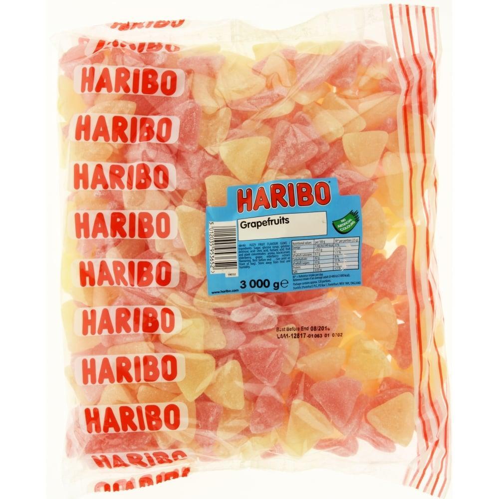 Haribo Grapefruits 3kg