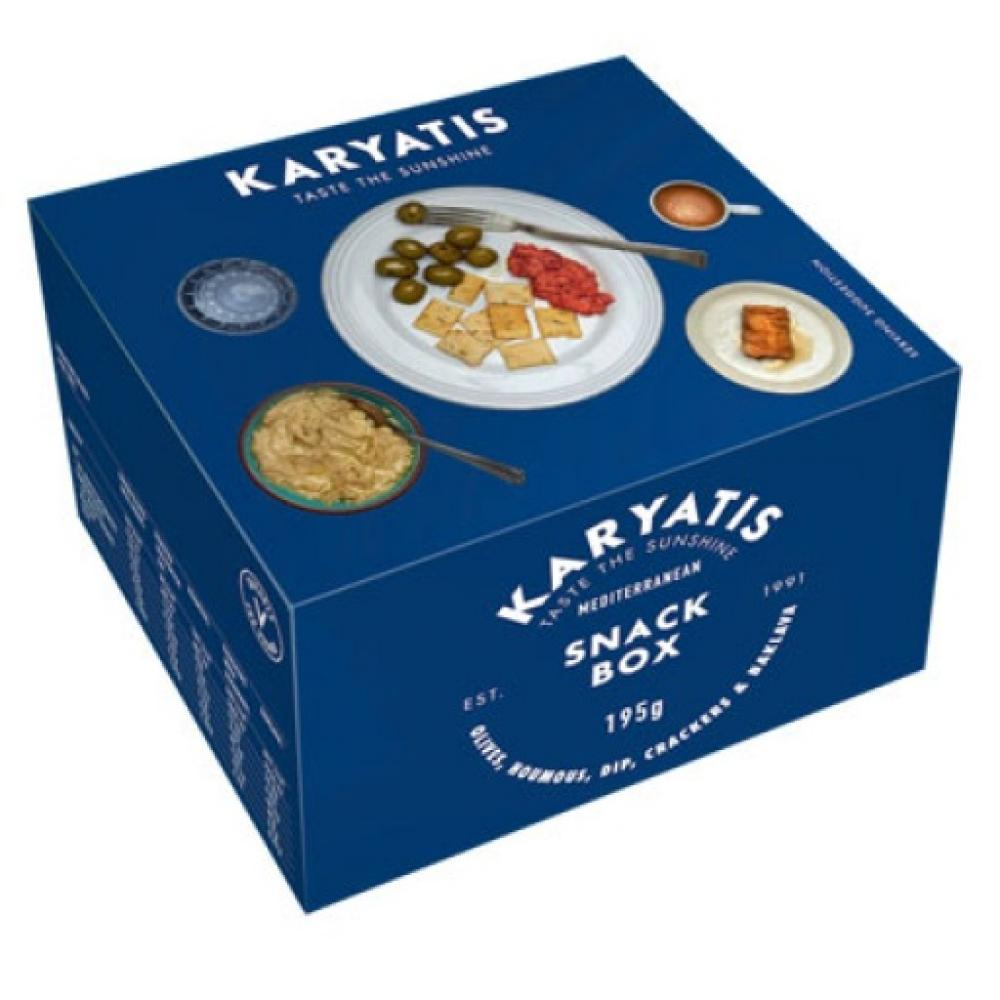 WEEKLY DEAL  Karyatis Mediterranean Snack Box 195g