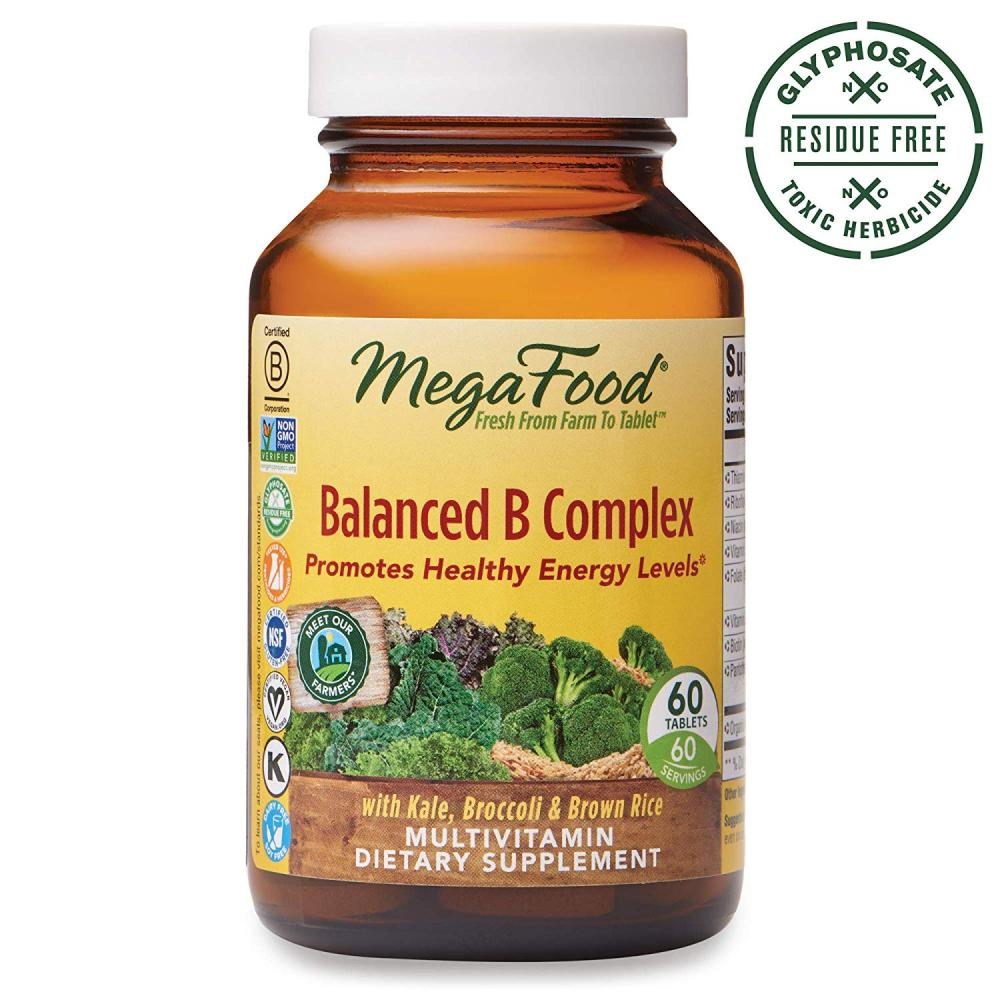 Mega Food Balanced B Complex 60 Tablets