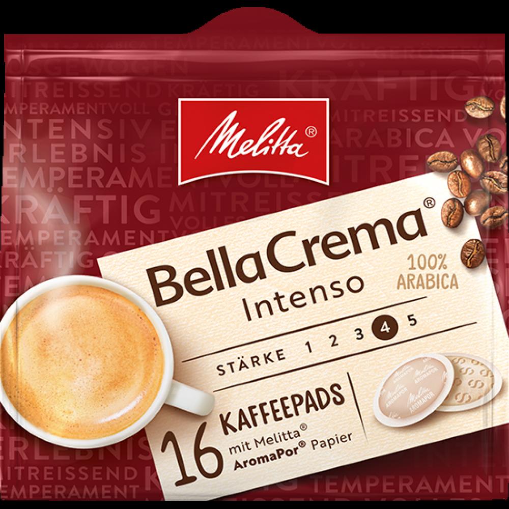 Melitta Bella Crema Intenso Caffee 16 Pads 107 g