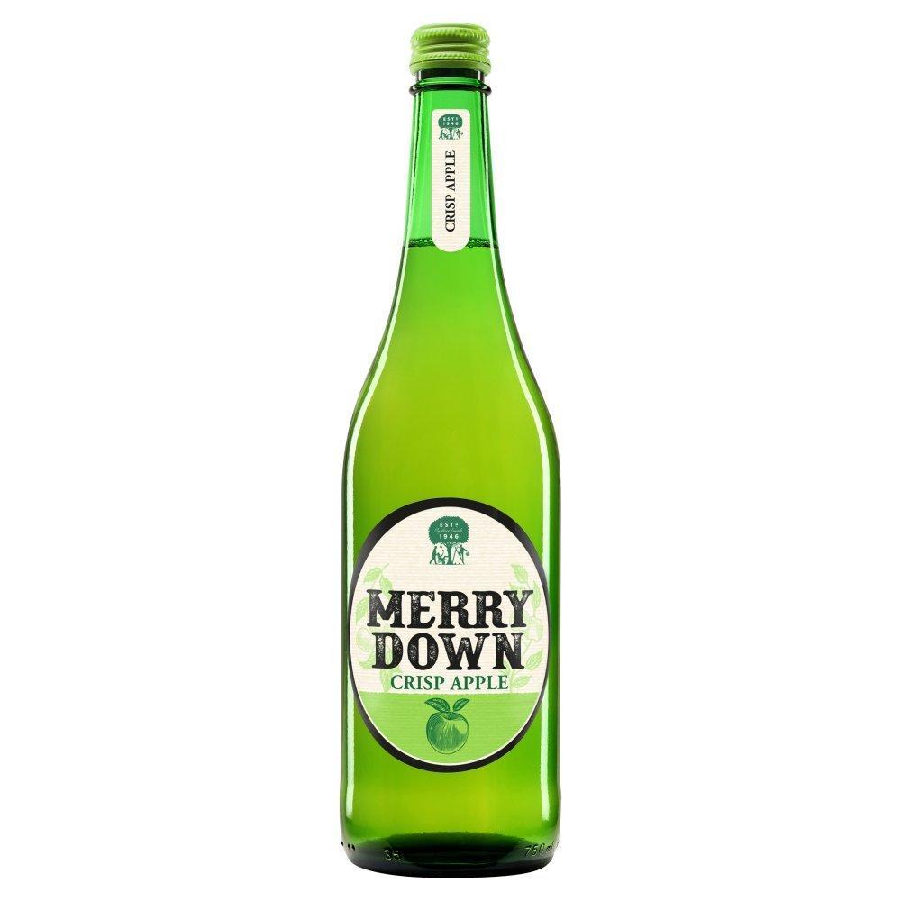 Merry Down Crisp Apple Cider 750ml