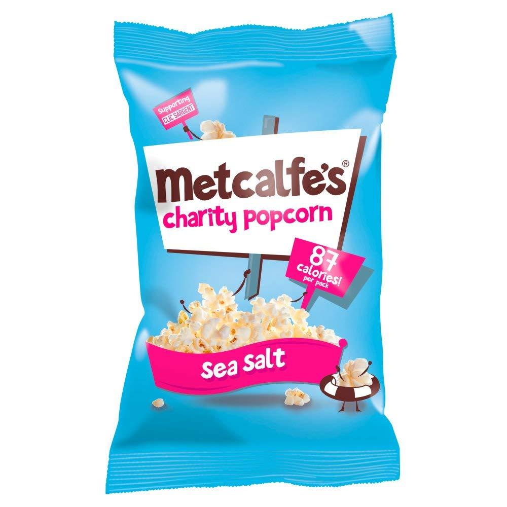 Metcalfes Charity Popcorn Sea Salt Flavour 20g