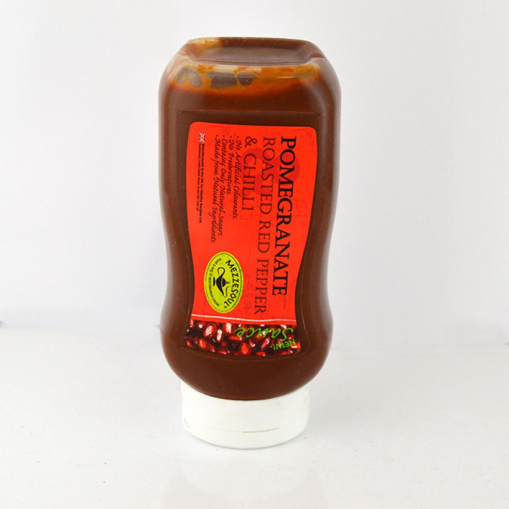 Mezzesoul Pomegranate Roasted Red Pepper and Chilli Sauce 500g