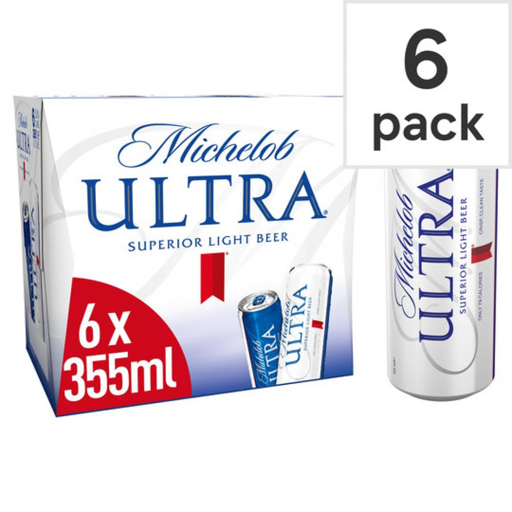 Michelob Ultra Superior Light Lager 355ml x 6