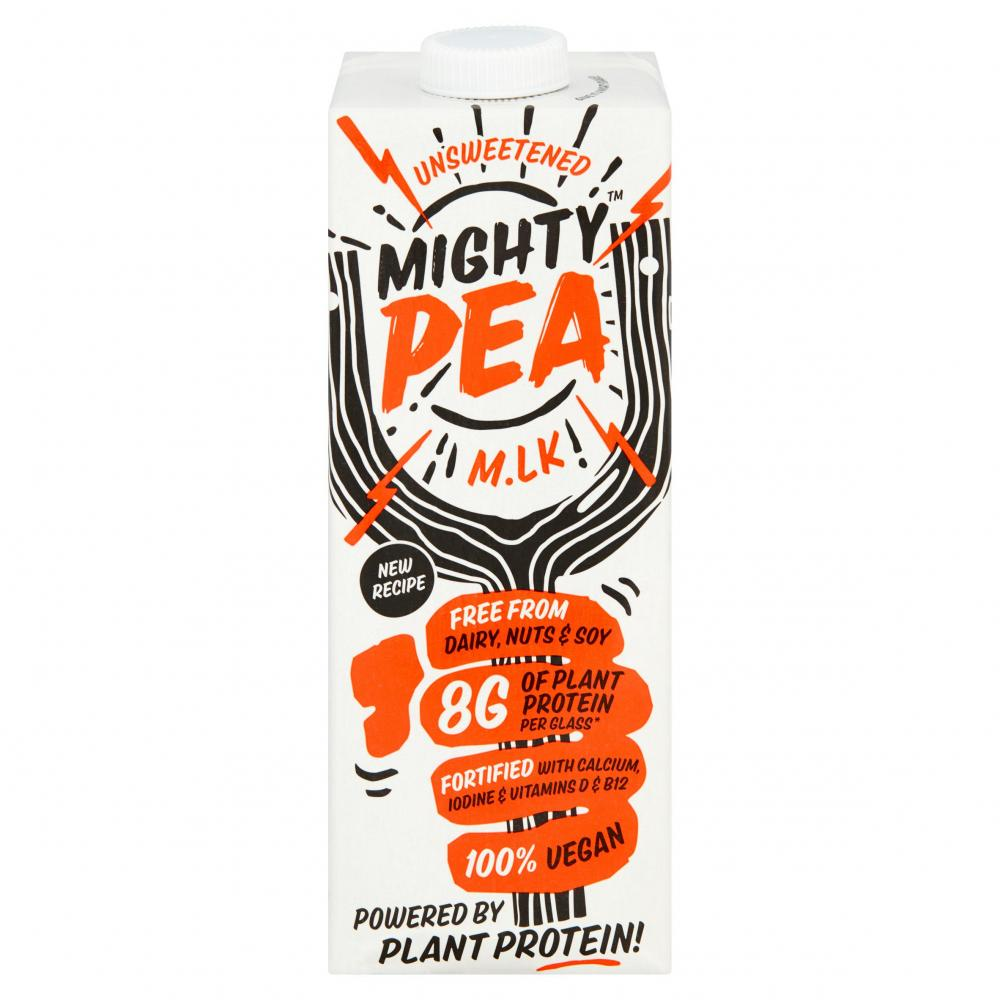 Mighty Pea Unsweetened Milk Alternative 1 Litre