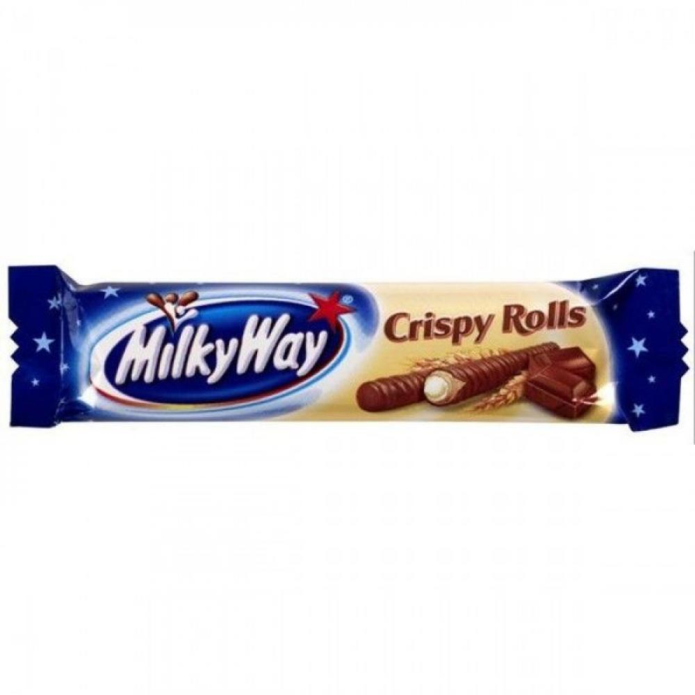MilkyWay Crispy Rolls 25g