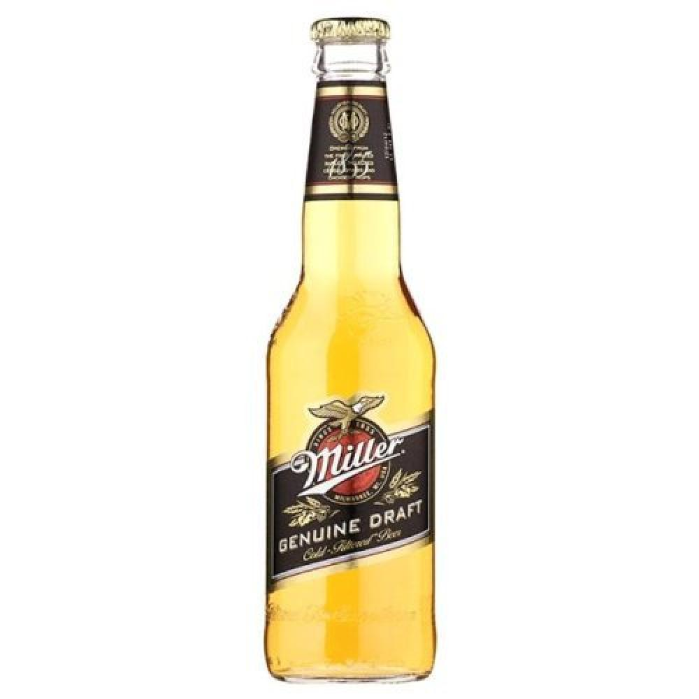 Miller Genuine Draft - American Lager 330ml