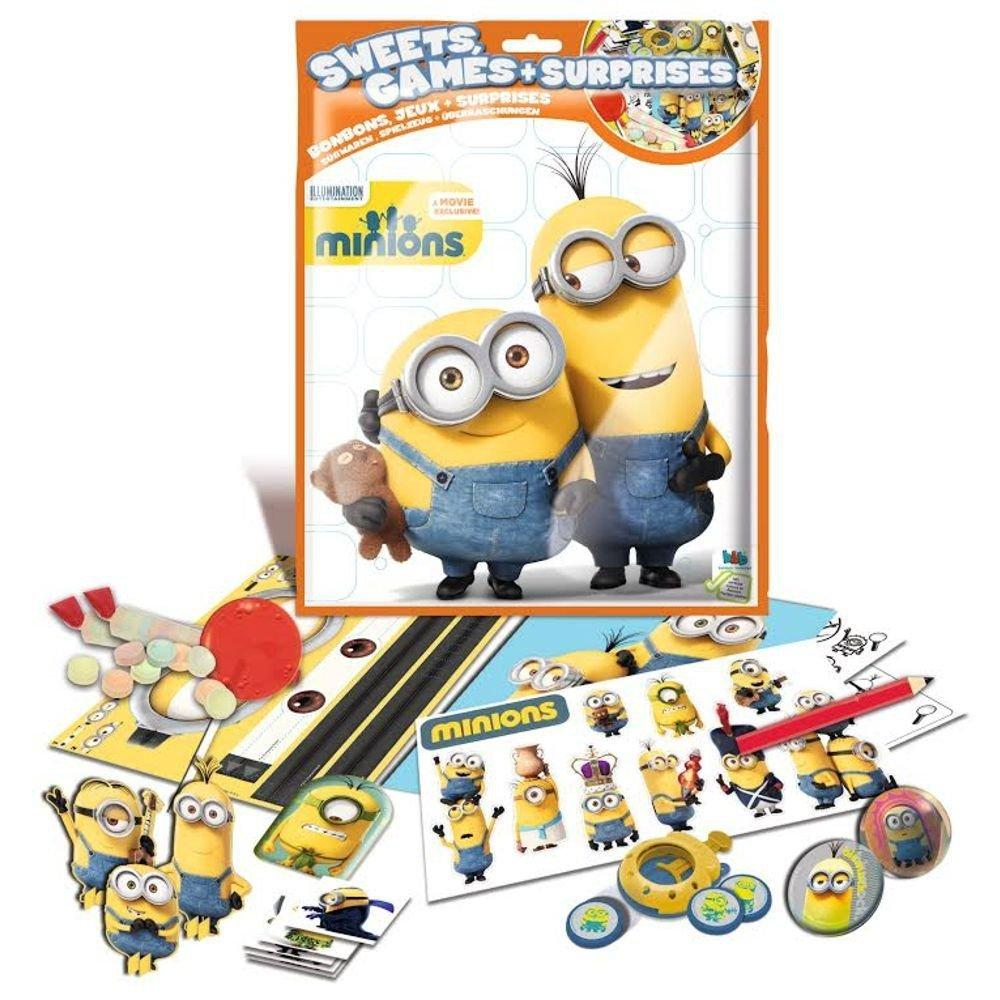 Minions Sweets Games and Surprises Lucky Bag