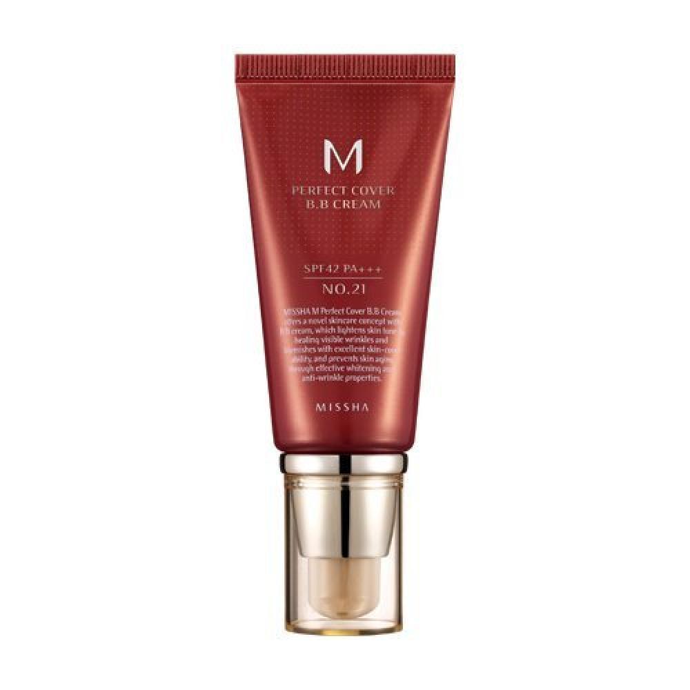 MISSHA Perfect Cover BB Cream SPF 42 PA Plus 21 Light Beige