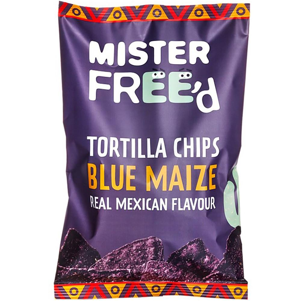 Mister FreeD Tortilla Chips with Blue Maize 135g